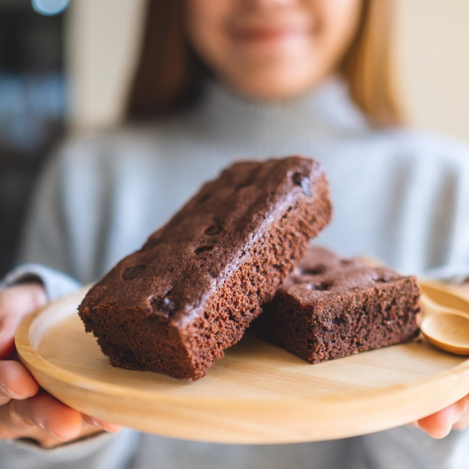 Brownies Gefeliciteerd