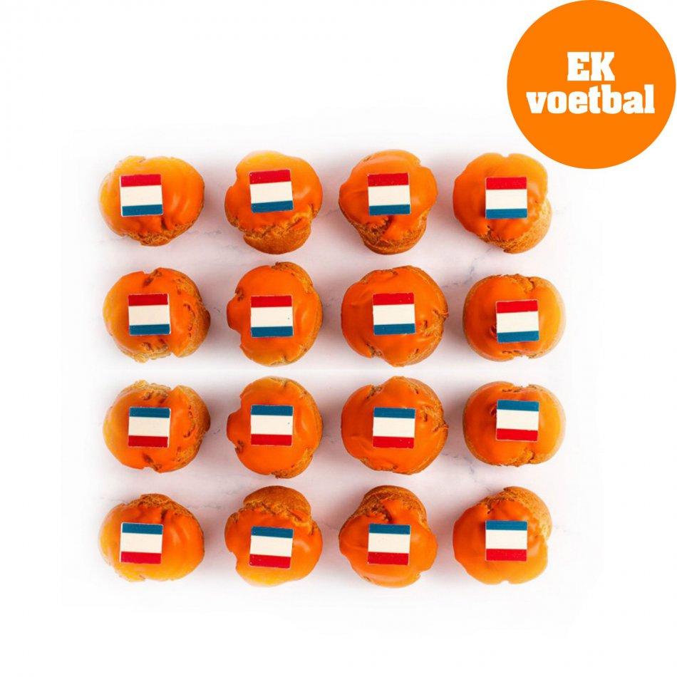 Oranje Ballen - 16 stuks